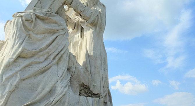 Felújítják az esztergomi szobrokat