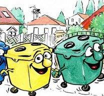 Szelektív hulladékgyűjtés decemberben