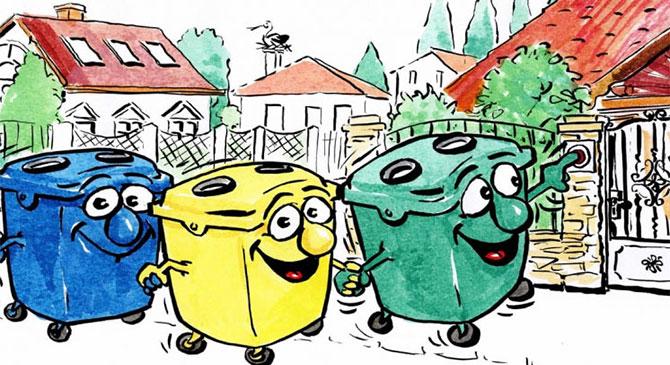 Zöld és szelektív hulladékgyűjtés márciusban