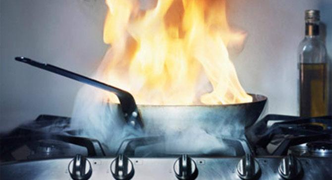 Előzzük meg a konyhai tüzeket!