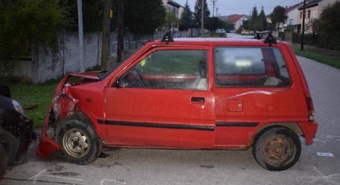 Autóbaleset Táton