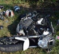 Súlyos motorbaleset Bajnánál