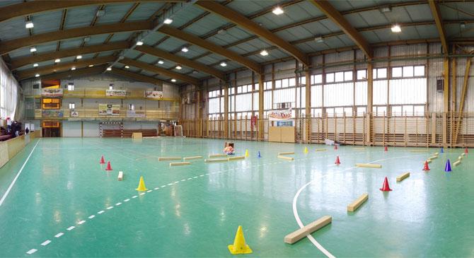 Dorogi Sportcsarnok felújítása