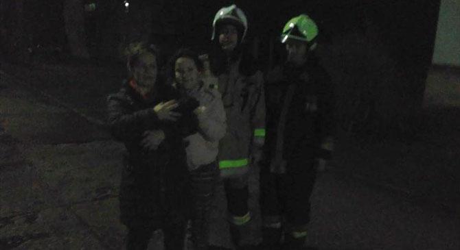 Megrémült macskán segítettek a tűzoltók