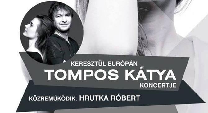 Tompos Kátya koncertje Esztergomban