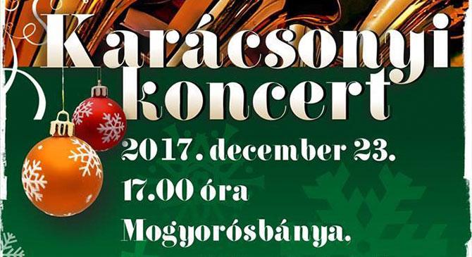 Karácsonyi Koncert Mogyorósbányán