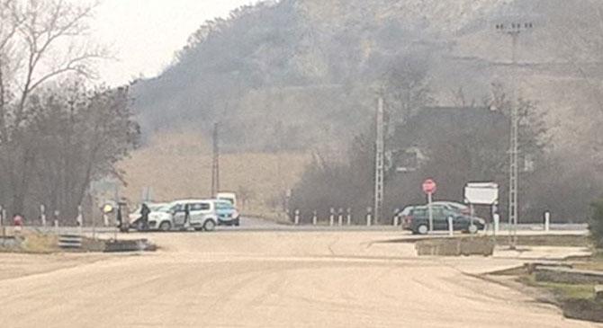 Ismét baleset történt Esztergom-kertvárosban