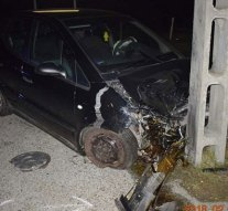 Autóbaleset Esztergom-kertvárosban