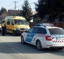 Életet mentettek az esztergomi rendőrök Süttőn