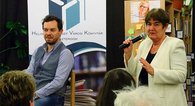 Nacsa Olivér humorista várta rajongóit Esztergomban