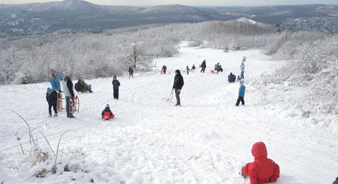 Téli sportok a Pilisben