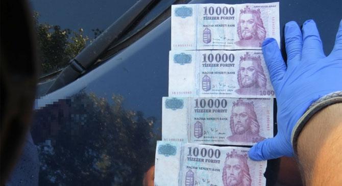 Hamis bankjegyekkel bukott le egy esztergomi és egy röszkei férfi