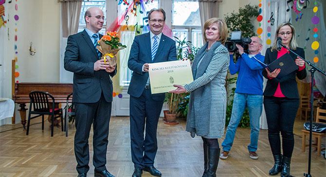 Egy esztergomi óvoda is Kincses Kultúróvoda címet nyert