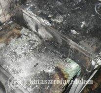 Tűz ütött ki egy családi házban