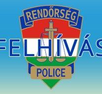 A rendőrség a lakosság segítségét kéri egy gázolással kapcsolatban