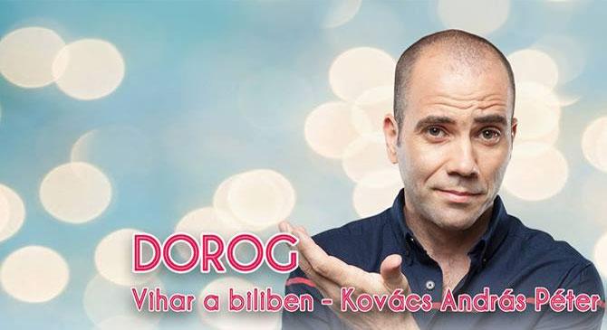 Kovács András Péter önálló estje