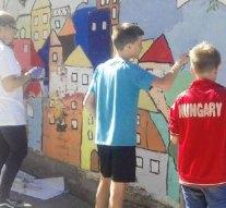 Megújult a Zrínyi iskola udvara