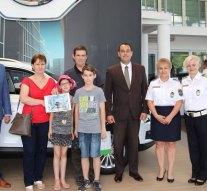 Esztergomi család képviseli megyénket a közlekedési vetélkedőn