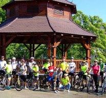 Zebegénybe túráztak a dorogi kerékpárosok