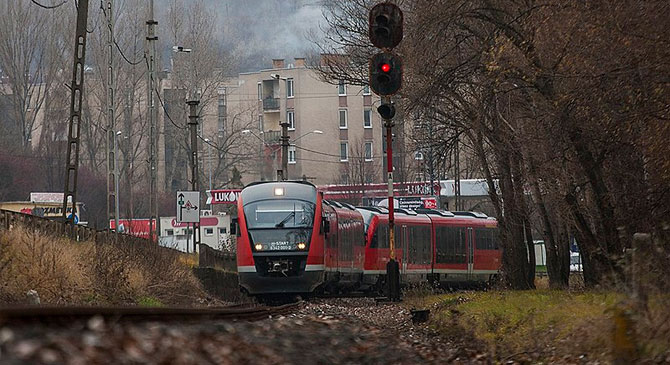 Vágányzár az Esztergom-Almásfüzitő vasútvonalon