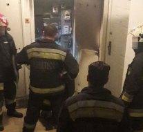 Tűzeset a Zsigmondy-lakótelepen