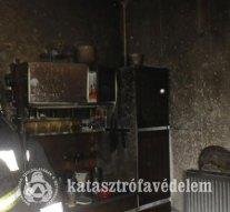 Családi ház égett Zsámbékon