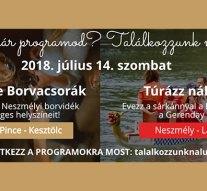Hétvégi programok térségünkben