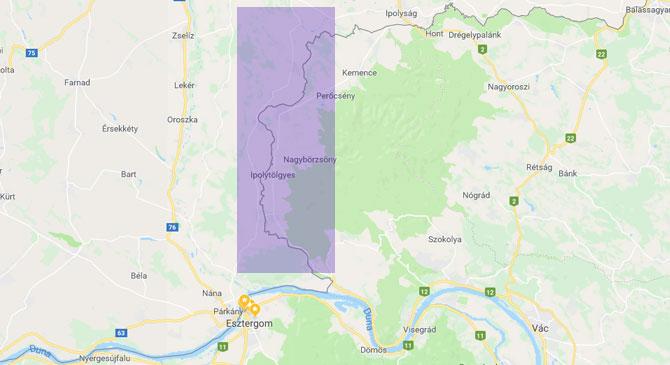 Tőlünk nem messze cserélünk területeket Szlovákiával