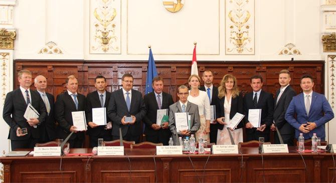 Klímatudatos-díjat kapott megyénk kilenc települése