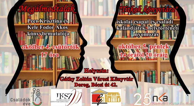 Országos Könyvtári Napok Dorogon