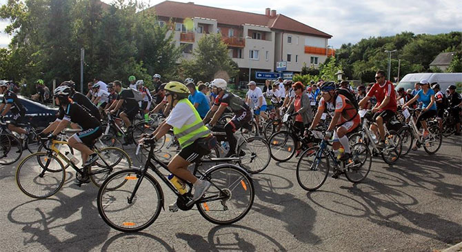 Forgalomkorlátozásra kell számítani családi kerékpártúra miatt