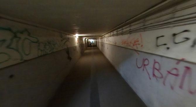 Lezárták a dorogi alagutat