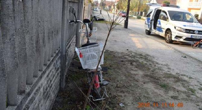 Ittasan borult fel elektromos kerékpárjával egy idős férfi