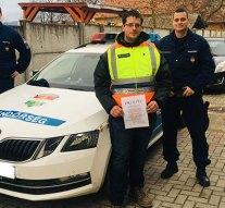 Elismerték egy piliscsévi polgárőr munkáját