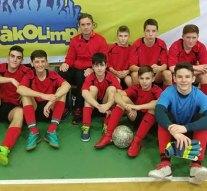 Futsal Diákolimpián remekeltek a dorogiak