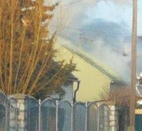 Ház gyulladt ki Esztergom-kertvárosban