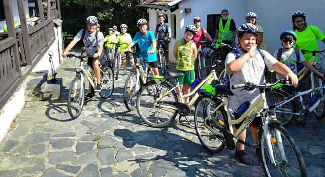 Kerékpáros vándortábor a Palócföldtől a Dunakanyarig