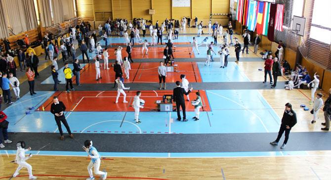 Nemzetközi vívóverseny Esztergomban
