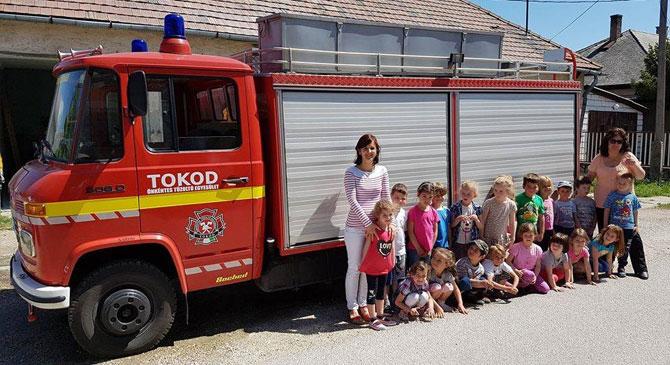 Adónk egy százalékával támogassuk a tokodi tűzoltókat!