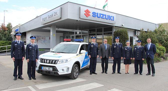 Bővült az esztergomi rendőri flotta
