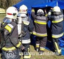 Katasztrófavédelmi versenyt rendeztek Esztergomban