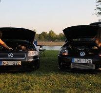 Német autók találkoztak a Palán