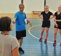 Japán edző oktatta a dági röplabdás gyerekeket