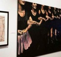 Japán stílusú képek kiállítása Esztergomban