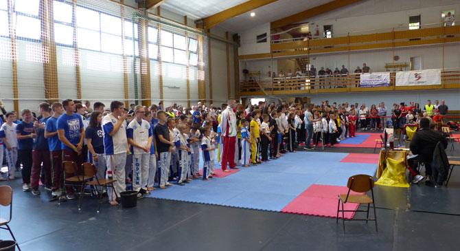 Kick-box bajnokságot rendeztek Dorogon