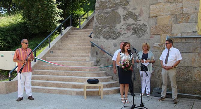 Újjáépült a lépcsősor a Bazilikánál
