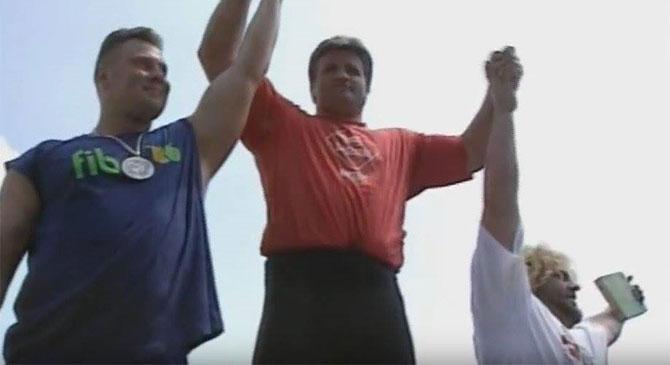 25 éve történt – A legerősebb emberek világbajnokságnak adott otthont Dorog
