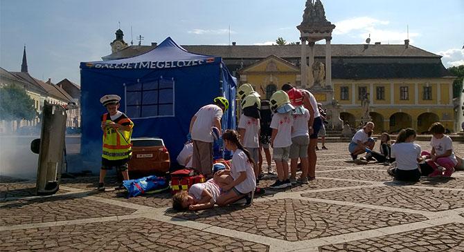Hősfaragó tábor Esztergomban