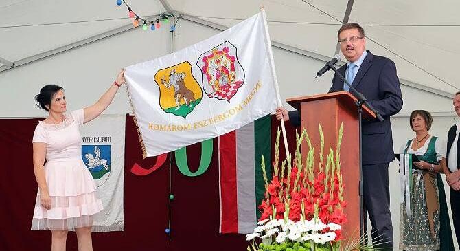 Nyergesújfalu várossá avatásának 30. évfordulóját ünnepelték