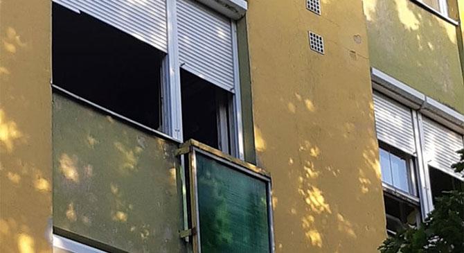 Tűz ütött egy dorogi lakásban